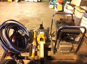 Used Holmatro rescue tools at a reasonable price!