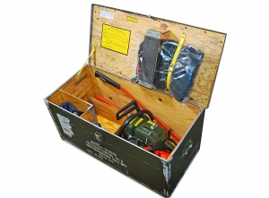 NEW! Complete fieldwork boxes with chainsaws for forest firefighting