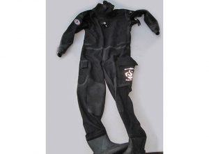 Drysuit complete with booths  (vatious sizes)