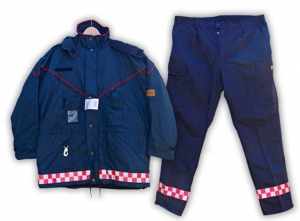 Lupus drive trouser / jacket with fagmerking
