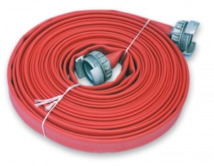 "New 1 ½ ""reinforced fire hose"