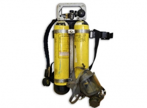 "Used ""Interspiro"" Breathing air kit"